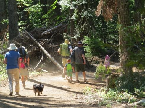 Family Hike to Hidden Lake