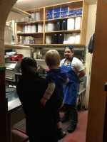 Hanson Visits the Kitchen