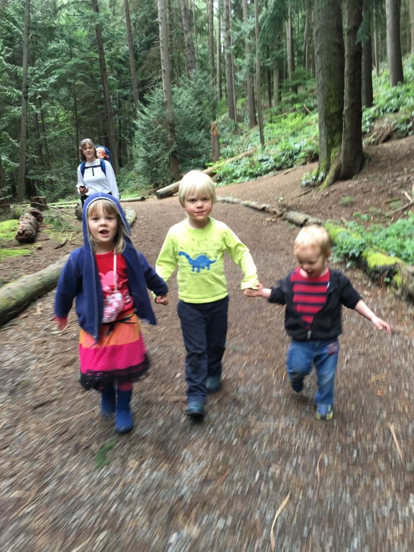 Happy Hikers