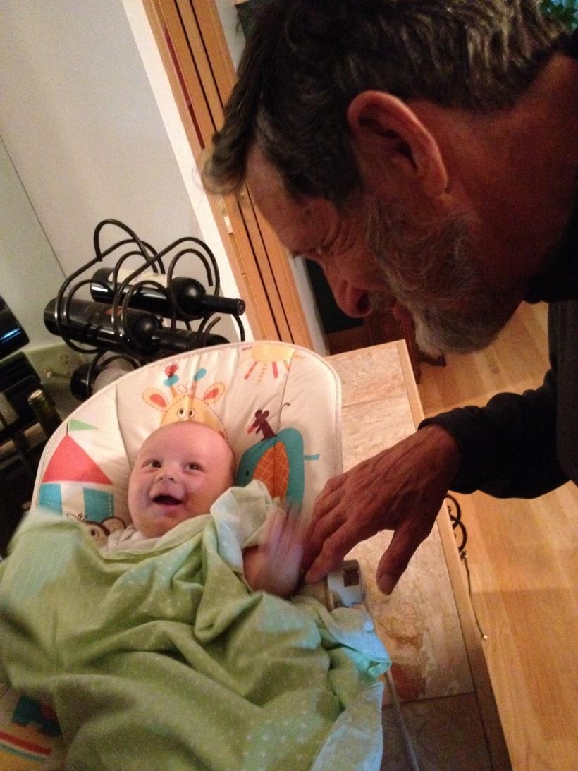 Hanson Likes his Grampa