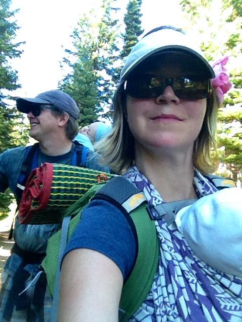 Hansons first big hike