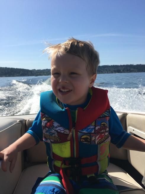 On Grandpa's Boat