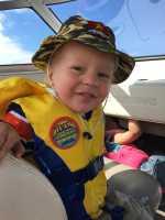 Hanson loves boats